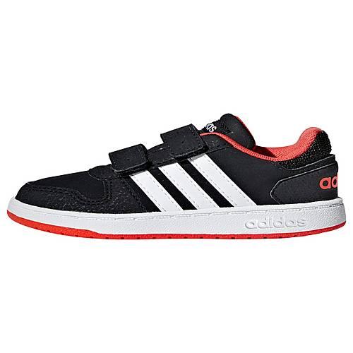 adidas Hoops 2.0 Schuh Sneaker Core Black Cloud White Hi Res Red im Online Shop von SportScheck kaufen