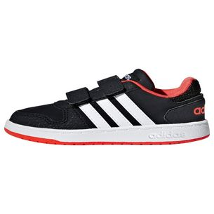 adidas Basketballschuhe Core Black / Ftwr White / Hi-Res Red