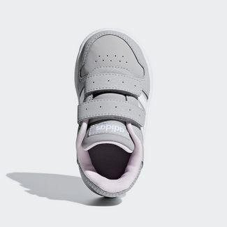 adidas Basketballschuhe Kinder Grey Two / Ftwr White / Aero Pink
