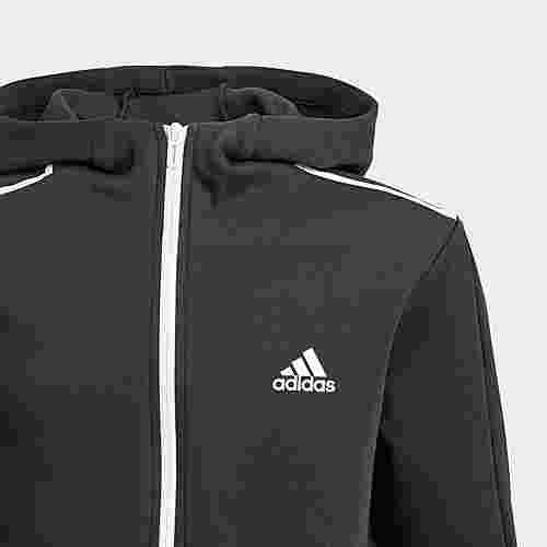 adidas ID Spacer Kapuzenjacke Sweatjacke Herren Black / White