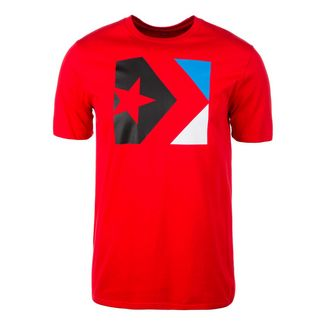 CONVERSE Star Chevron Box T-Shirt Herren rot