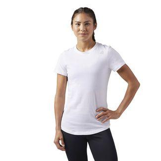Reebok Elements T-Shirt Funktionsshirt Damen Weiß