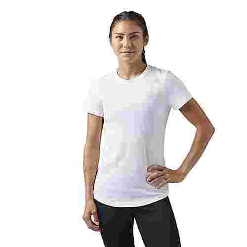 Reebok Elements T-Shirt Funktionsshirt Damen Weiß