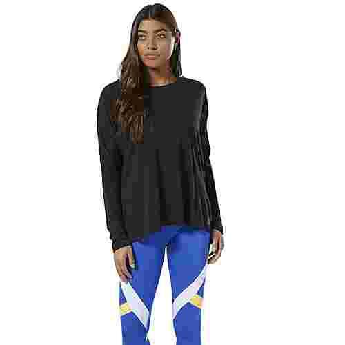 Reebok WOR Supremium Long Sleeve Shirt Funktionsshirt Damen Schwarz