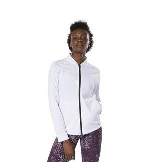 Reebok Track Jacket Trainingsjacke Damen weiß