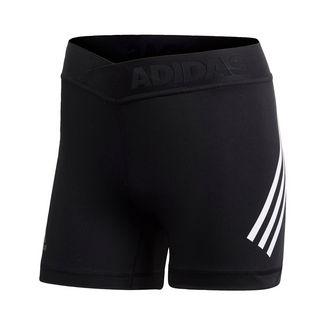 adidas Alphaskin Sport 3-Streifen kurze Tight Funktionsshorts Damen Schwarz