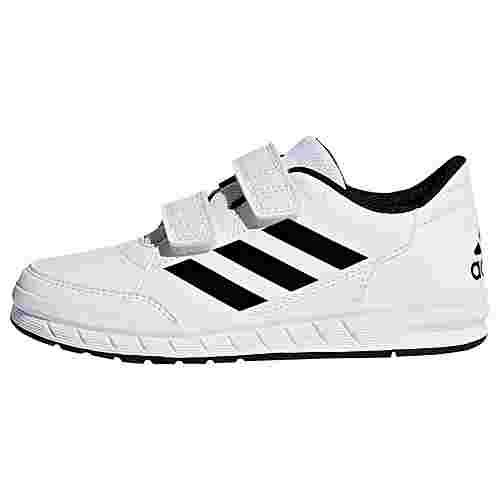 adidas AltaSport Schuh Hallenschuhe Kinder Ftwr White / Core Black / Ftwr White