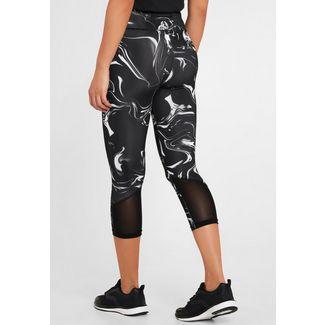 Active by Lascana Tights Damen schwarz marmoriert