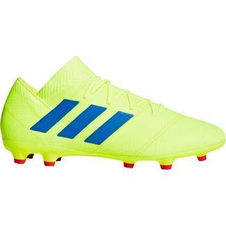 adidas NEMEZIZ 18.2 FG Fußballschuhe solar yellow
