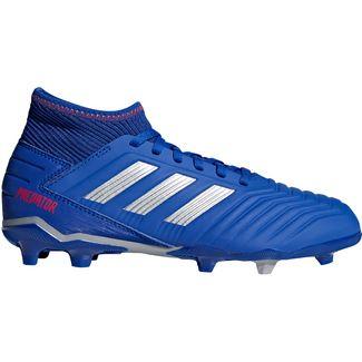 adidas PREDATOR 19.3 FG J Fußballschuhe Kinder bold blue