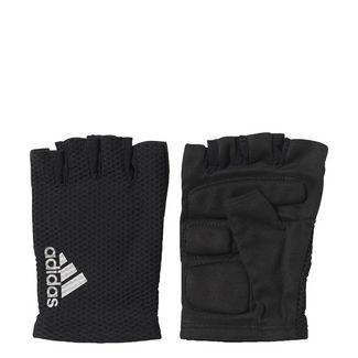 adidas hand.schuh Race Fitnesshandschuhe Herren Black/White/Reflective Silver