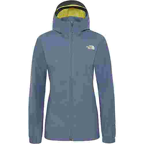 The North Face Quest Regenjacke Damen grisaille grey-exotic green