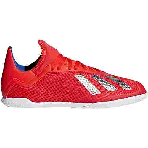adidas X 18.3 IN J Fußballschuhe Kinder active red