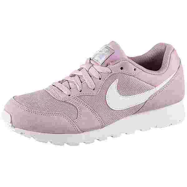Nike MD Runner 2 Sneaker Damen plum chalk-white