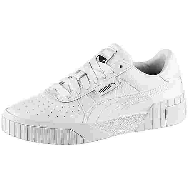 PUMA Cali Sneaker Damen puma white-puma white
