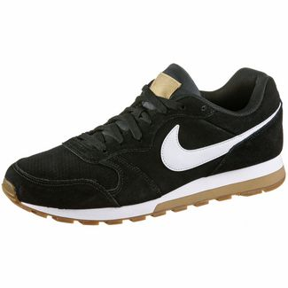 Nike MD Runner 2 Suede Sneaker Herren black-white-club gold