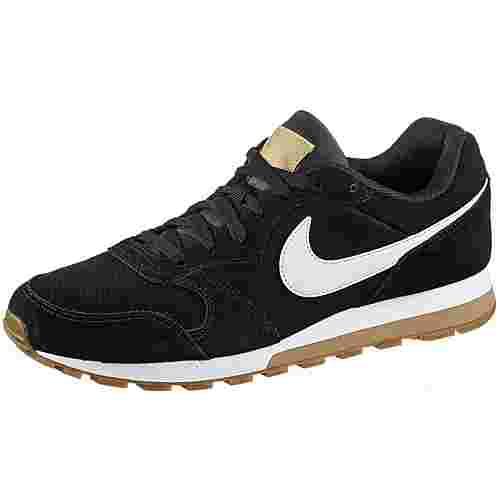 Nike MD Runner 2 Suede Sneaker Herren black-white-club gold im Online Shop  von SportScheck kaufen