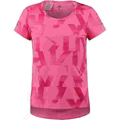 adidas Funktionsshirt Kinder semi solar pink