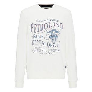 Petrol Industries Sweatshirt Herren Antique White