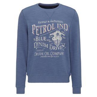Petrol Industries Sweatshirt Herren Stone Blue