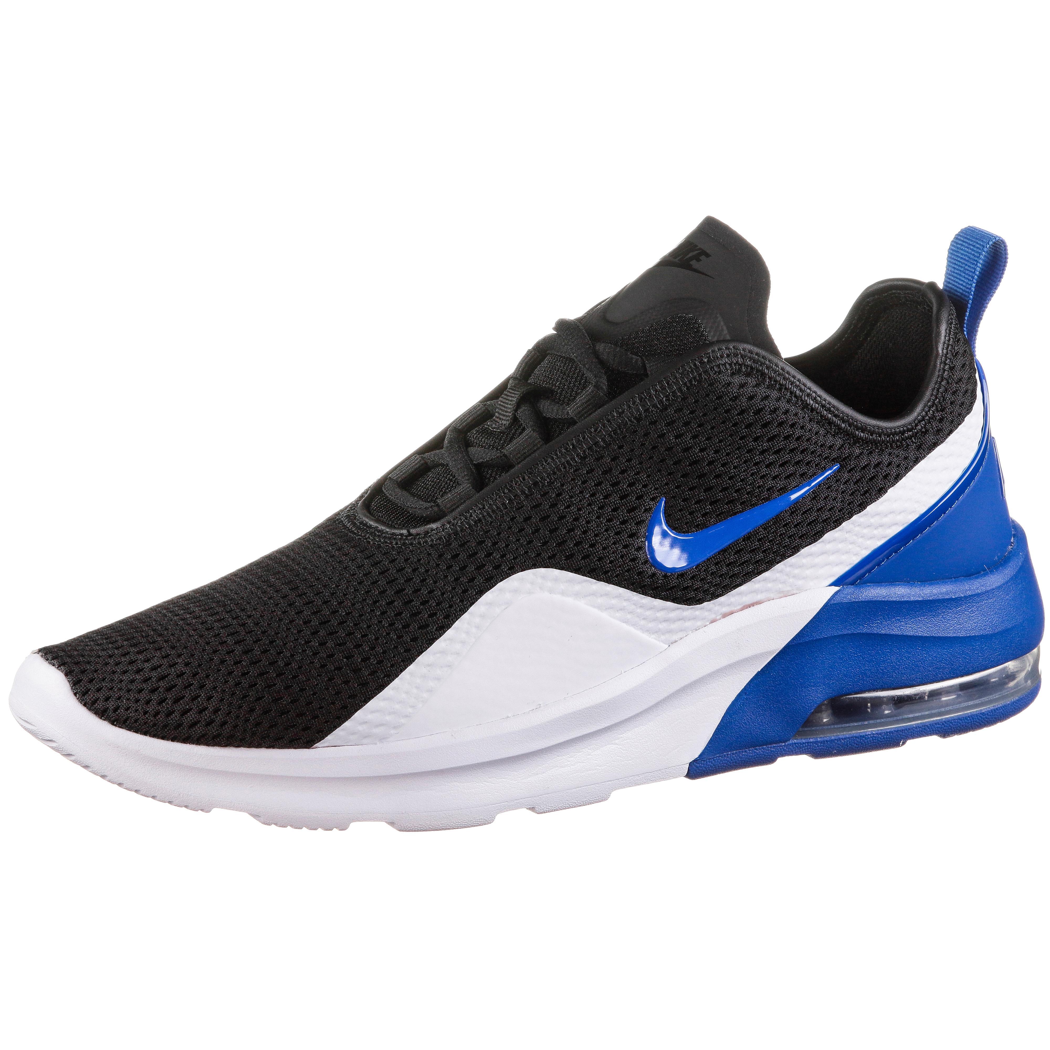 Nike Air Max Motion 2 Sneaker Herren black game royal white im Online Shop von SportScheck kaufen