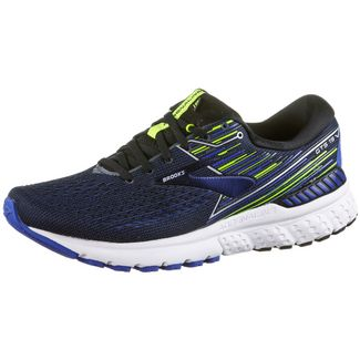 Brooks Adrenaline GTS 19 Laufschuhe Herren black-blue-nightlife