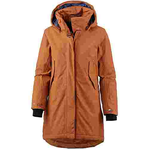 Didriksons 1913 Sara Parka Damen leather brown