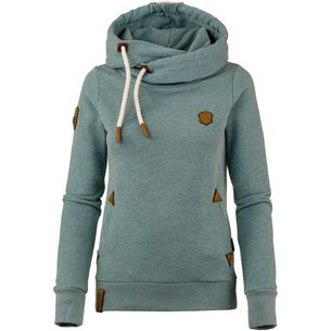 Naketano Darth Hoodie Damen stormy sea melange