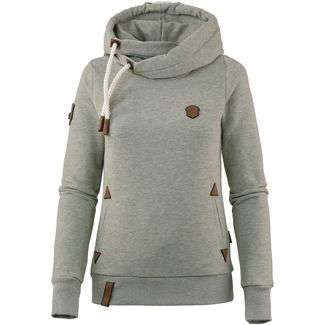 Naketano Darth Hoodie Damen gun smoke grey melange