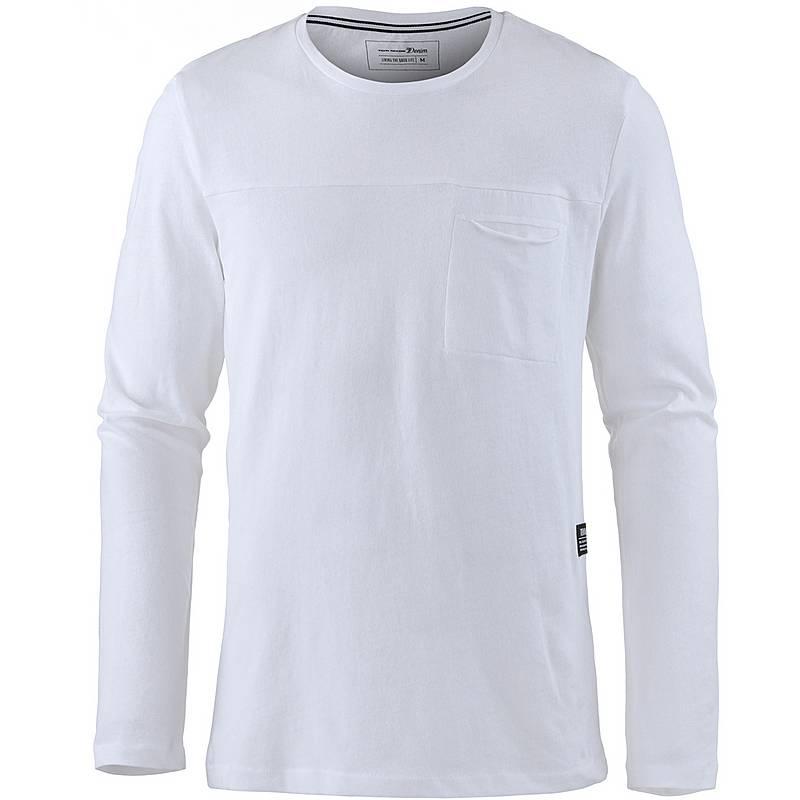 TOM TAILOR Langarmshirt Herren white im Online Shop von SportScheck ... 3bb6b02f5d