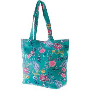 Seafolly Water Garden Strandtasche Damen evergreen