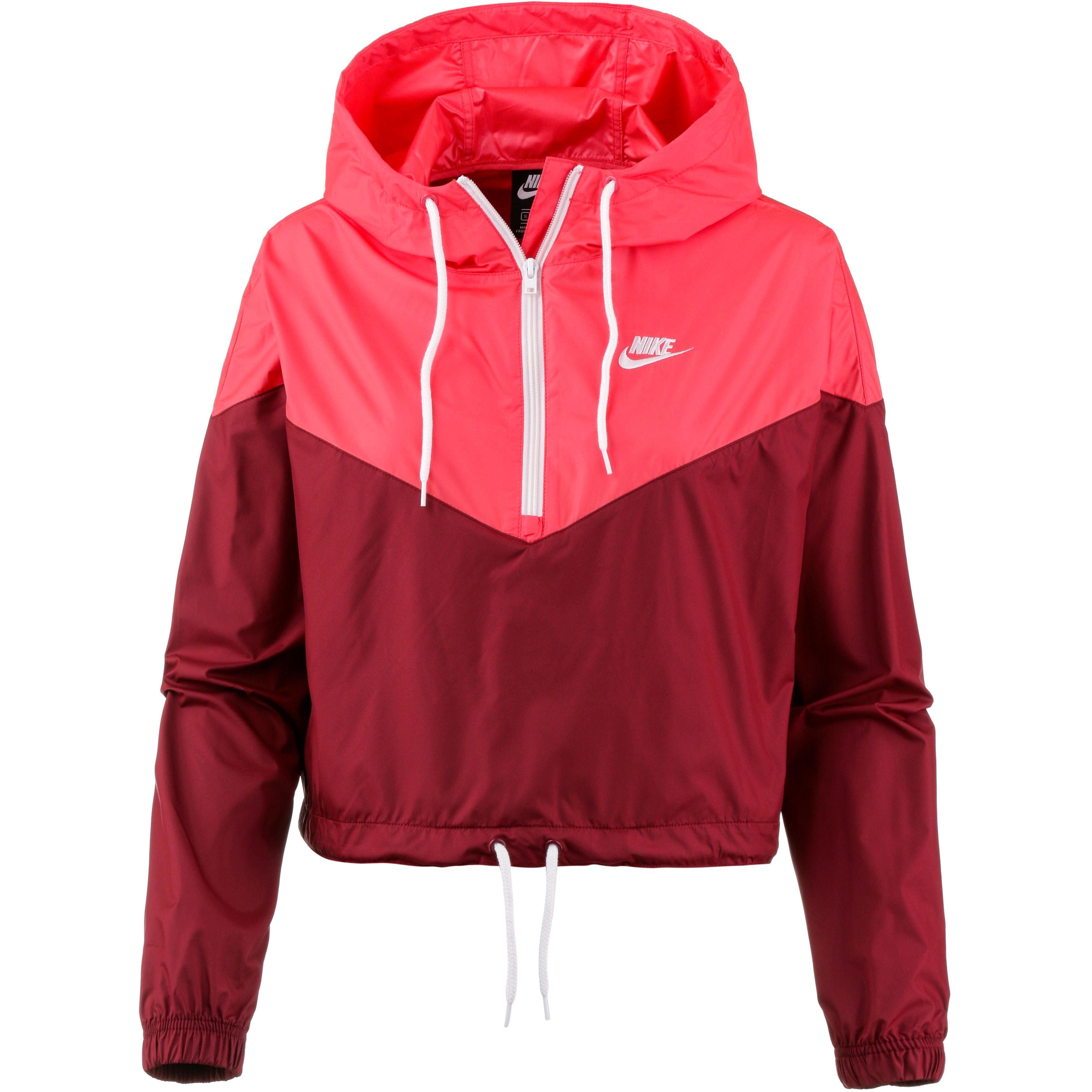 Nike NSW HRTG Windbreaker Damen team red ember glow white im Online Shop von SportScheck kaufen