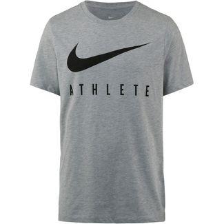Nike Dry Athlete Funktionsshirt Herren dk grey heather-black