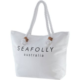 Seafolly Ship Sail Strandtasche Damen white