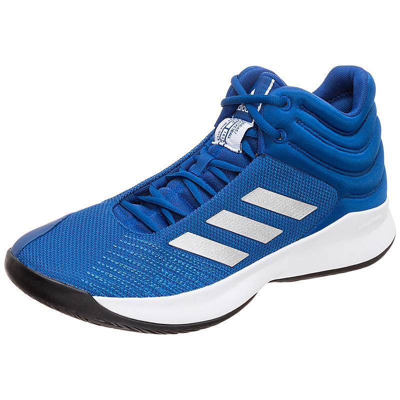 new style 2caf1 71118 ... coupon for adidas pro spark 2018 basketballschuhe herren blau silber  db24e f663e
