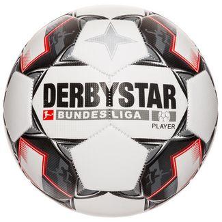 Derbystar Bundesliga Player Special Fußball weiß / schwarz