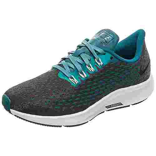 Nike Air Zoom Pegasus 35 Laufschuhe Damen dunkelgrau / blau