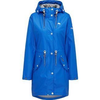 Schmuddelwedda Regenjacke Damen blau