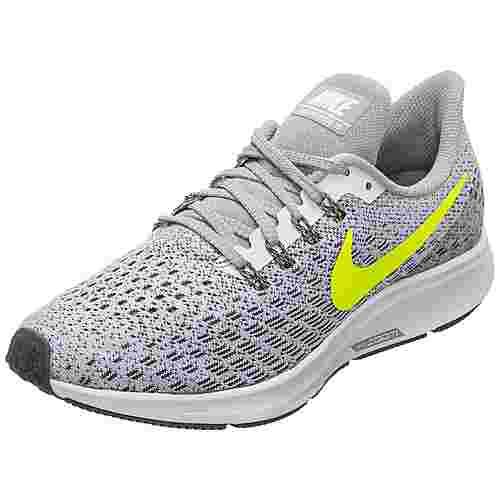 Nike Air Zoom Pegasus 35 Laufschuhe Damen grau / gelb