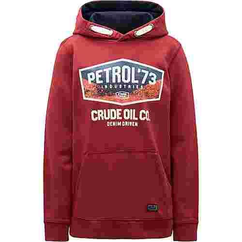 Petrol Industries Hoodie Kinder Maroon