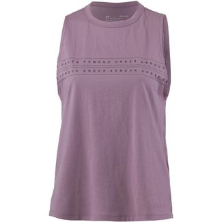 Under Armour Graphic Tanktop Damen purple