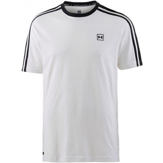 Under Armour UNSTOPPABLE STRIPED Funktionsshirt Herren white