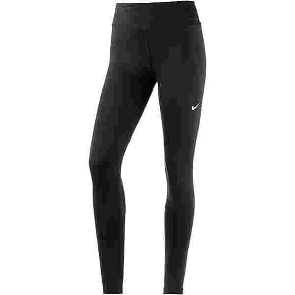 Nike Fast Lauftights Damen black-reflective silver