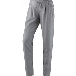 TOM TAILOR Sweathose Damen light silver grey mélange