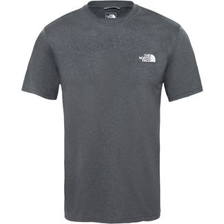 The North Face REAXION AMP CREW Funktionsshirt Herren tnf dark grey heather-high rise grey