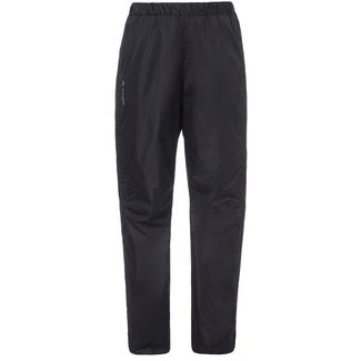 VAUDE Fluid Full-Zip Regenhose Damen black