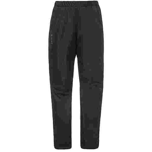 VAUDE Fluid Full-Zip Regenhose Damen black