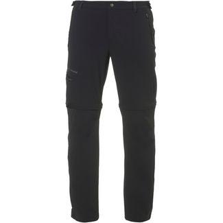VAUDE Farley Stretch T-Zip Pants II Zipphose Herren schwarz