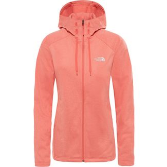 The North Face TECH MEZZALUNA Fleecejacke Damen spiced coral white heather