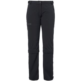 VAUDE Farley Stretch Capri T-Zip II Zipphose Damen black